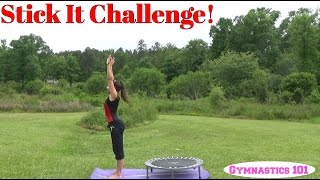 Stick It Challenge | Lydia The Gymnast