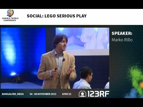 LEGO SERIOUS PLAY at Conference with Marko Rillo