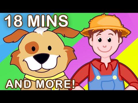 BINGO  Plus More Nursery Rhymes  18 Minutes Compilation!