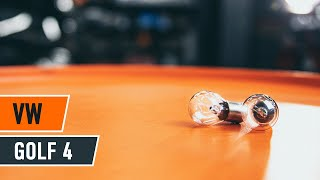 Kaukovalopolttimo asennus itse opetusvideo VW GOLF