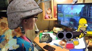 Бабушка легкого поведения пошла в кибер спорт))))Game over