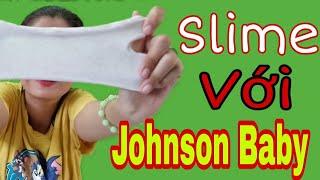 Thử Làm Slime Bơ Với Johnson Baby | Như Quỳnh Kids