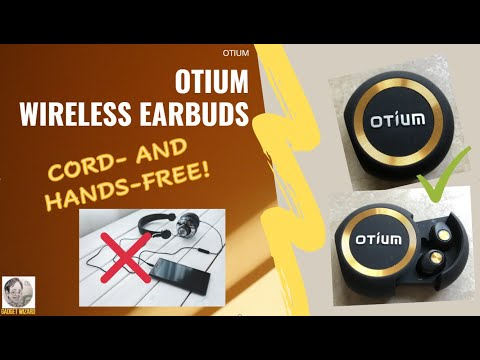 Otium Wireless Earbuds Bluetooth 5 0 How Convenient To Have An Automatic Pairing Youtube