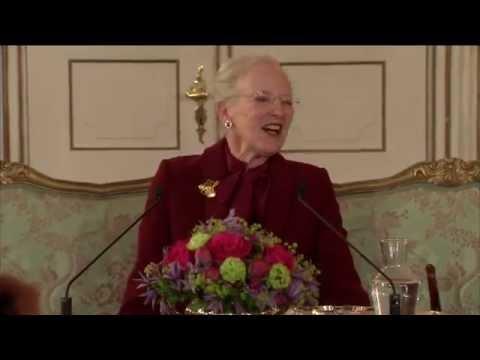 H.M. Dronningen afholder pressemøde på Fredensborg Slot