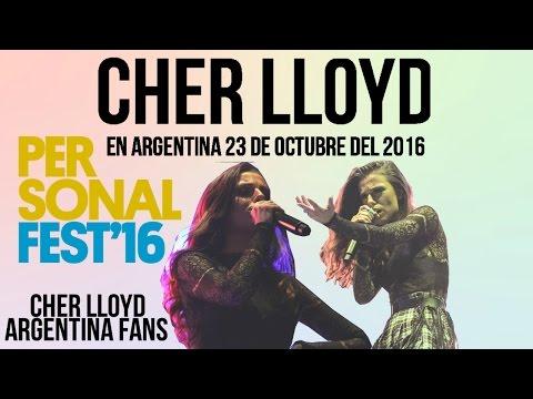 Cher Lloyd Live Argentina Personal Fest / 23 De Octubre Del 2016 (Live Competo)