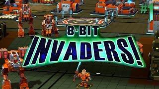 8-Bit Invaders: Marines  #1 Bug Hunt