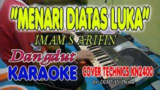 MENARI DIATAS LUKA KARAOKE/TANPA VOKAL + LIRIK HD II COVER TERAS KARAOKE