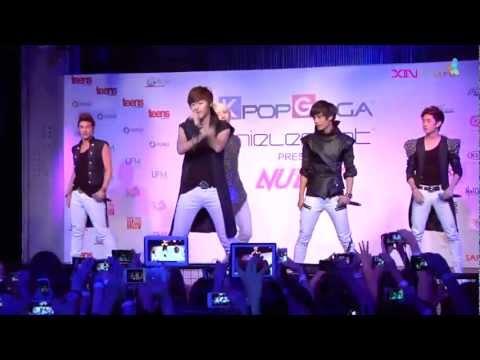 [HD 720P] 121026 NU'EST - Not Over You @ KPOPGAGA Singapore ShowKase 2