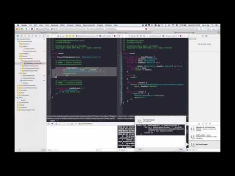 OSX Dev Day 68 - CocoaSwiftPlayer - Status Bar App