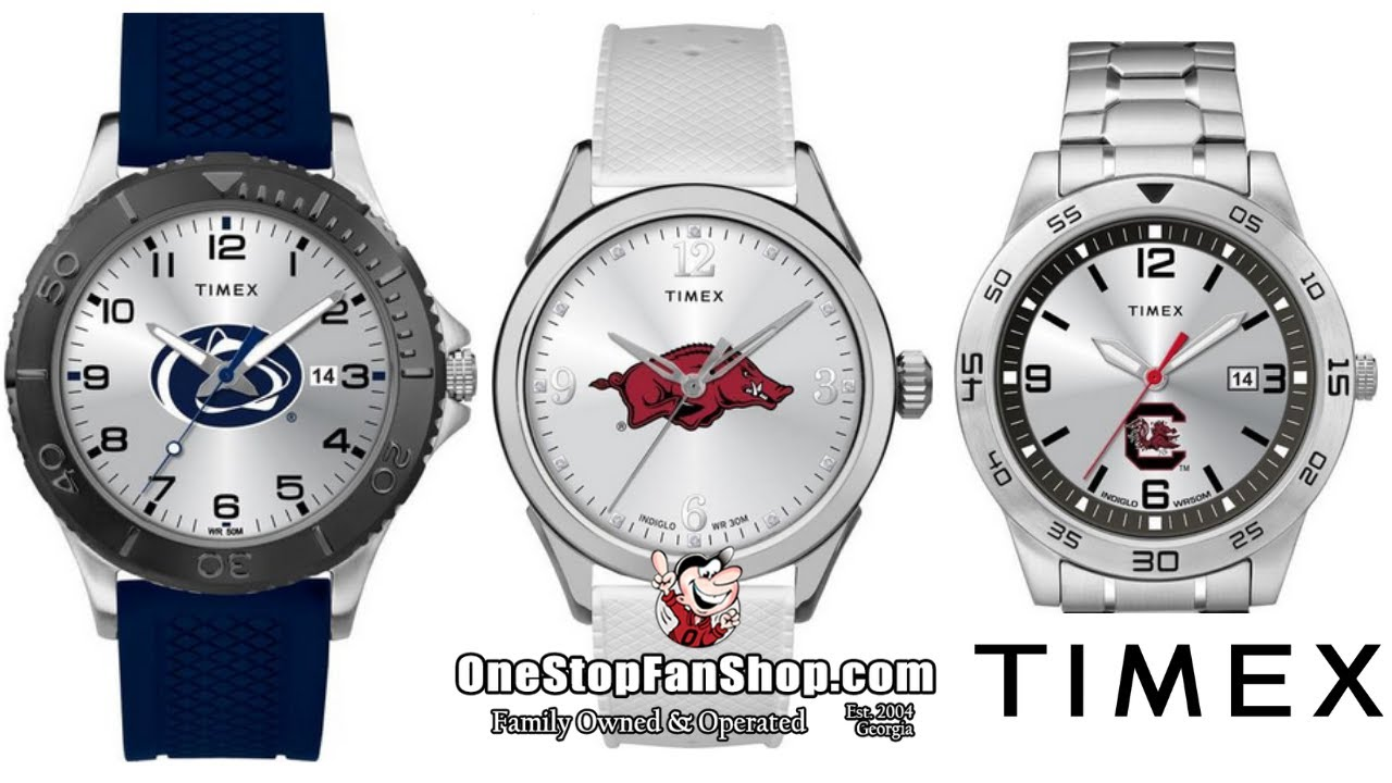 Timex Tribute Collection: College, University, and Professional Sports Fan Watches