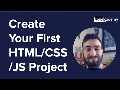 Create Your First HTML/CSS/JS Project