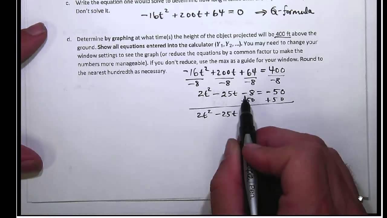 Ausgezeichnet College Algebra Probleme Bilder - Gemischte Übungen ...