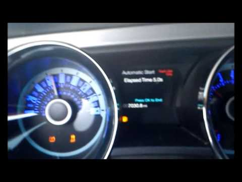 2013 Ford Mustang 3 7L V6 0 60 5 0