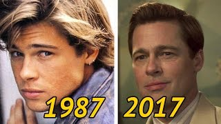 ► Brad Pitt - Changing Look | From Movie To Movie