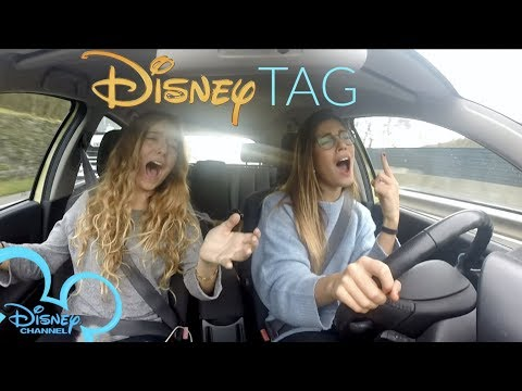 DISNEY CHANNEL TAG - Canciones en el coche