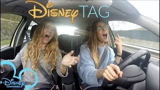 disney channel tag canciones en el coche