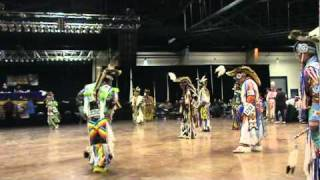 Mens Grass Dance (Evening) 2 songs BEST 2010 Durant Powwow