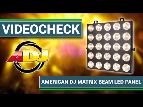 American DJ Matrix Beam LED Panel Review deutsch