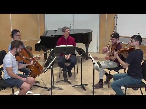 How to sight-read a Brahms string quartet