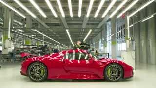 Footage – 918 Spyder manufactory: behind-the-scenes