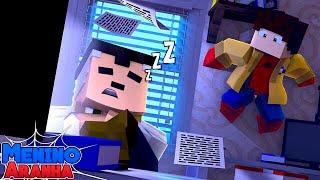 Minecraft: MENINO ARANHA - PEGUEI MEU UNIFORME DE VOLTA!!! #123