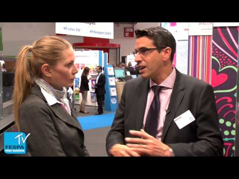 Ronen Zioni Talks About HP Educating Their End Users At FESPA Digital 2014