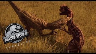 Jurassic World Evolution #6 Dilophosaurs VS. Velociraptor! [60FPS/HD] | Marcel