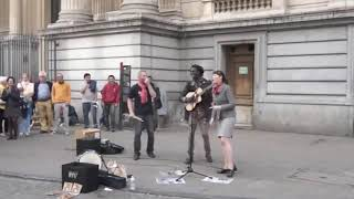 Bob Marley   Don't Worry About a Thing   Street Performance Cover by Lampa Faly