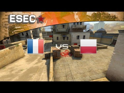 CS:GO - ESEC 2014 - Groupe D : France vs Pologne (D2)