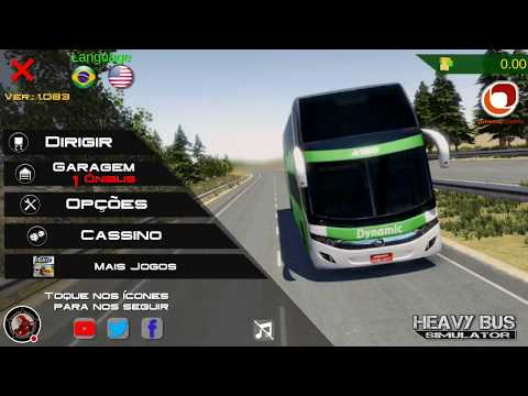 Meu stream 1° de Heavy Bus Simulator