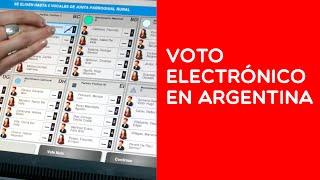 El Voto Electrónico en Argentina I: El proyecto del Gobierno de Macri, ¿si o no?