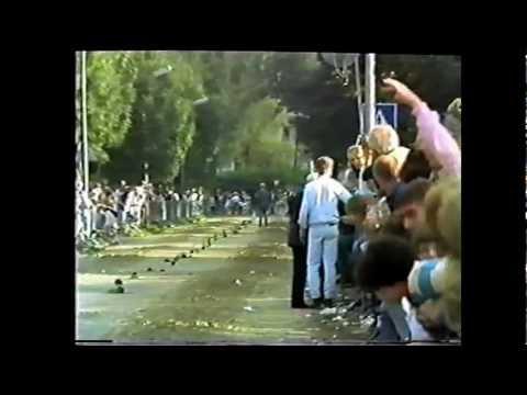 Sfeerimpressie Kortebaan Nieuwerkerk aan den IJssel 1985