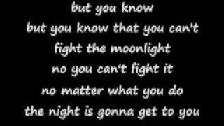 Download can't fight the moonlight with lyrics MP3 song and Music Video