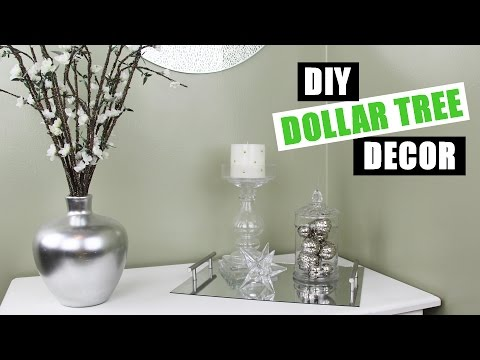 DOLLAR TREE DIY Room Decor | Dollar Store DIY Vase Filler Ideas | How To Make DIY Vase Fillers