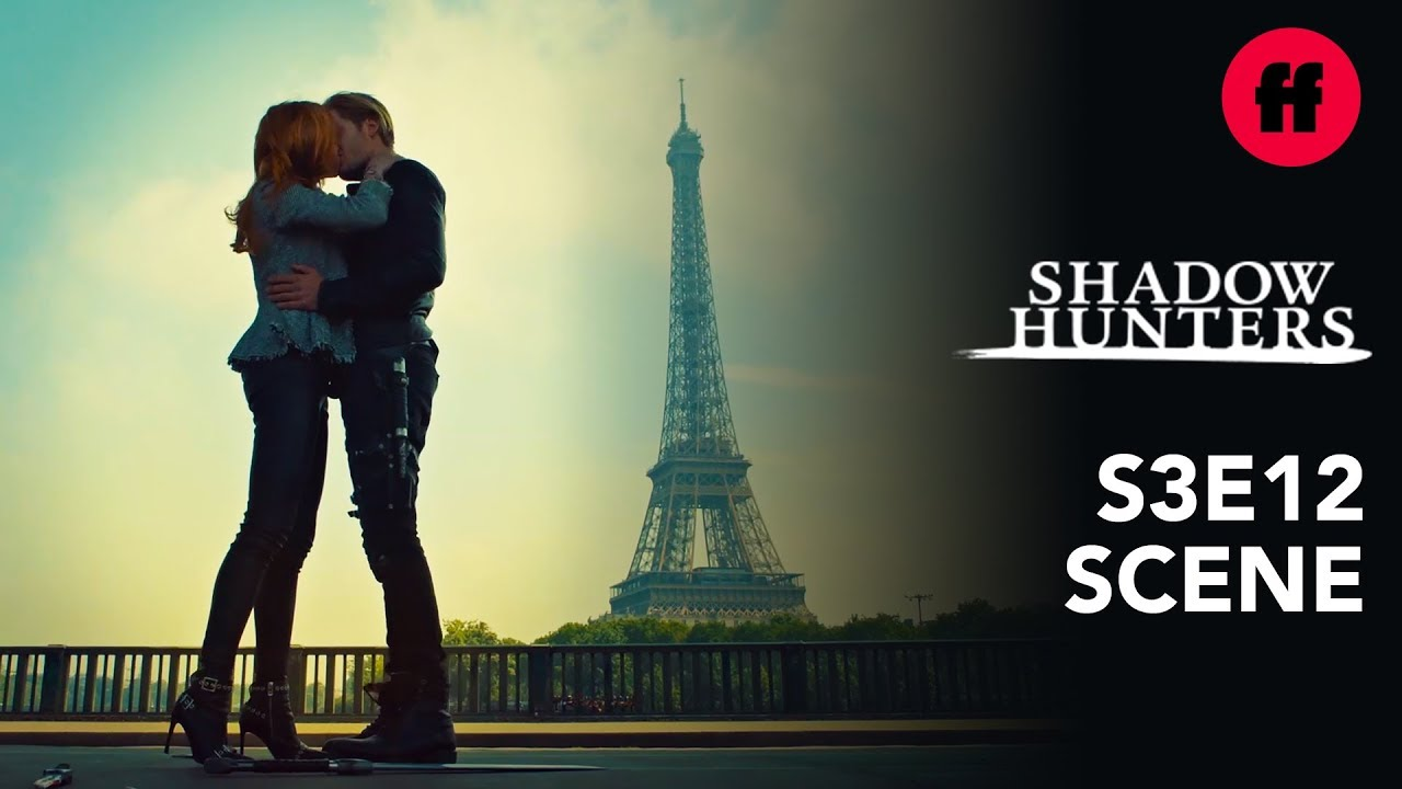 Download Shadowhunters Season 3, Episode 12 | Clace Kiss By The Eiffel Tower | Freeform