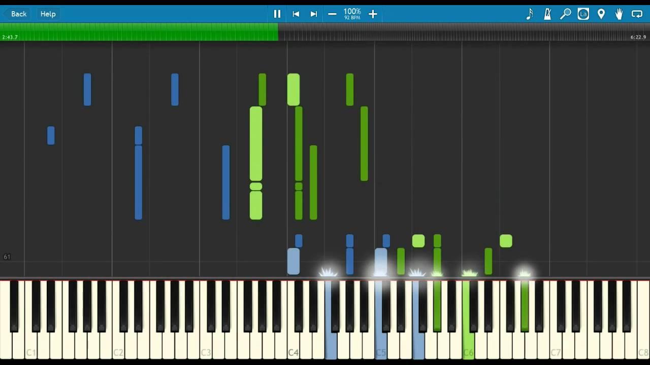 Polonaise opus 53 chopin [slow + sheet music] (piano tutorial.