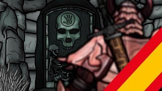 The Senile Scribbles : Skyrim Parody Parte 8 (Doblaje-Castellano)
