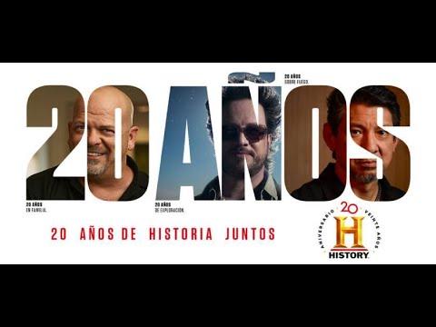 🕰️ Un recorrido por 20 AÑOS DE HISTORIA con HISTORY - Maritza Ariza