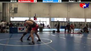 Joe Schumacher vs. Kyle Ruschell at 2013 Las Vegas/ASICS U.S. Open