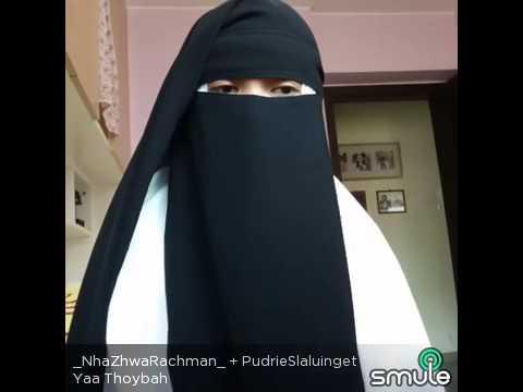 Shalawat nabi Ya thoybah gadis bercadar