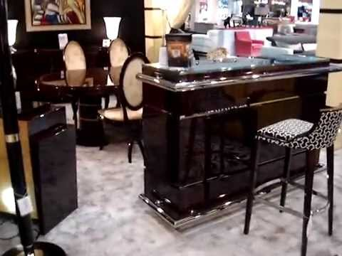 les luminaires art deco a paris canapes art deco tapis mobilier youtube. Black Bedroom Furniture Sets. Home Design Ideas