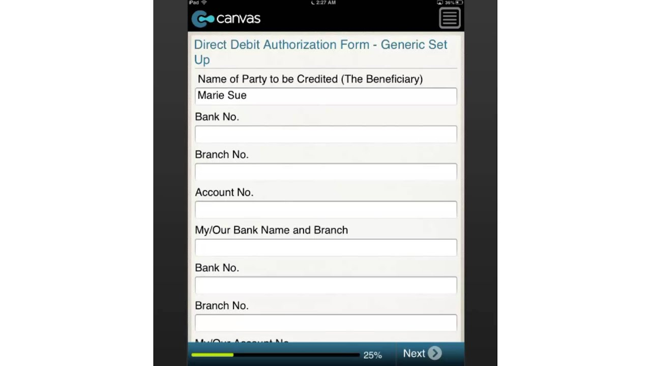 Direct Debit Authorization Form Generic Set Up Hong Kong YouTube – Direct Debit Form