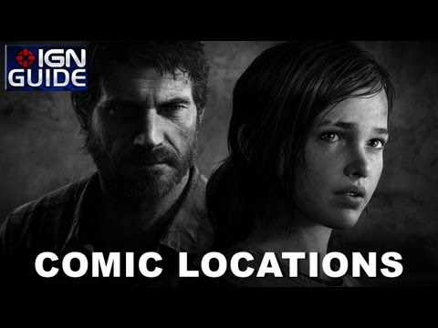 The Last of Us Walkthrough - All Comic Book Locations