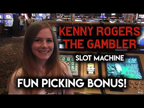 The GAMBLER! Slot Machine! BONUS!