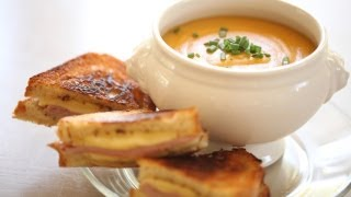 Soup Recipes & Grilled Cheese Sandwiches