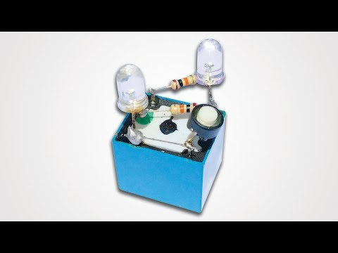 How To Make Short Circuit Protection Circuit Using One Relay || Save Battery/ Power Supply