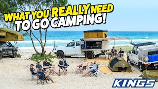 EPISODE SIX! A Beginner's Guİde to Camping: 20 Camping Must-Haves You Can't Leave Home Without!