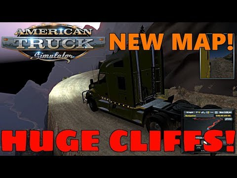 American Truck Simulator | NEW MOUNTAIN ROADS MAP! Part 1, Picking Up Our Trailer