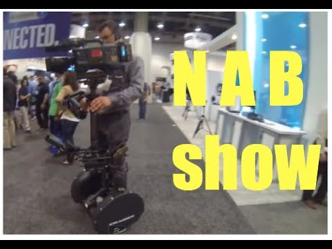 NAB show (national association of broadcasters) - the camera mans trade show