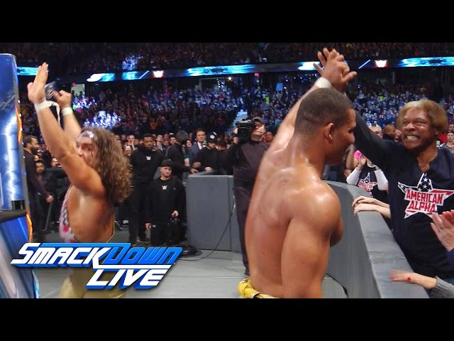 American Alpha celebrate SmackDown Tag Team Championship win: SmackDown LIVE Exclusive, Dec 27, 2016